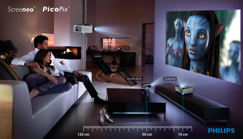 Projektory mogą być dobrą alternatywą dla telewizorów. /materiały prasowe