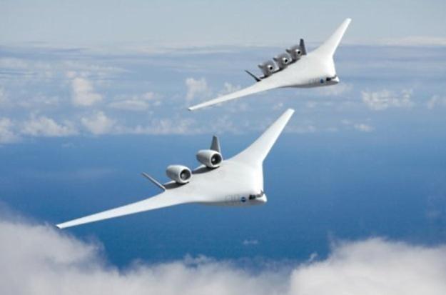 Projeky samolotu przyszłości autorstwa Boeinga /materiały prasowe