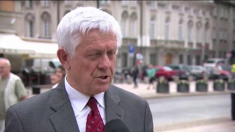 Prok. Zbigniew Jaskulski, rzecznik Prokuratury Apelacyjnej w Warszawie. /TVN24/x-news