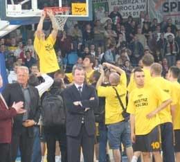 Prokom Trefl zagra w tym sezonie w elitarnej ULEB Euroleague /Maciej Cepin/RMF