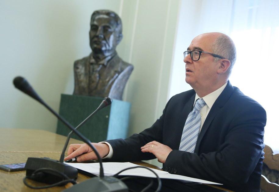 Prokurator generalny Andrzej Seremet /Tomasz Gzell /PAP