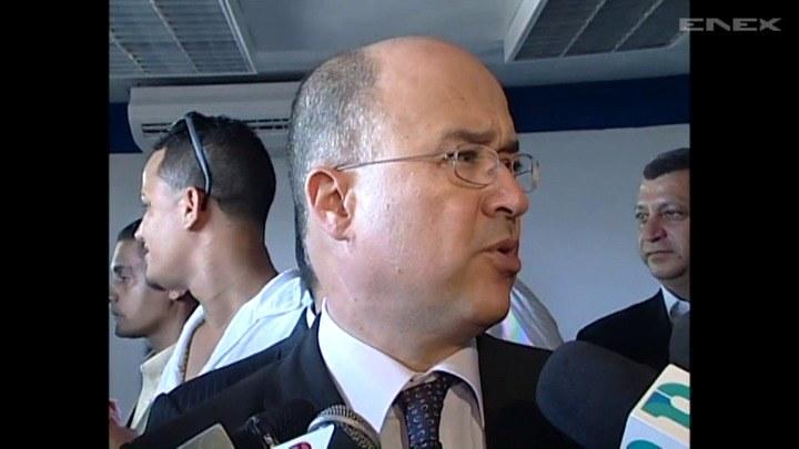 Prokurator generalny Dominikany Francisco Dominguez Brito. /TVN24/x-news
