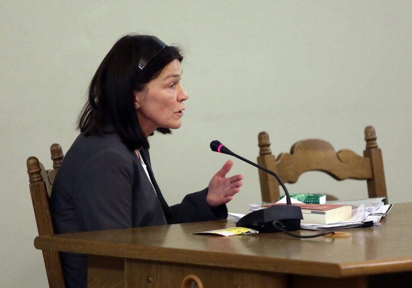 Prokurator Hanna Borkowska /Tomasz Gzell /PAP