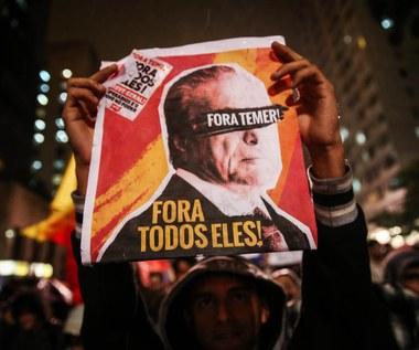 Prokuratura: Prezydent Brazylii Michel Temer próbował przeszkodzić śledztwu