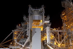 Prom Atlantis w czasie przygotowań do startu