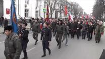 Prorosyjscy mieszkańcy Sewastopola przeszli ulicami miasta