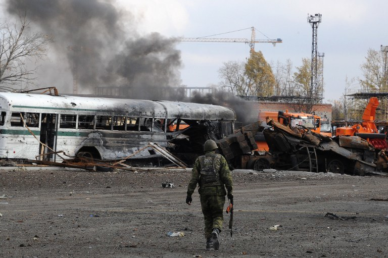 Prorosyjski separatysta /AFP