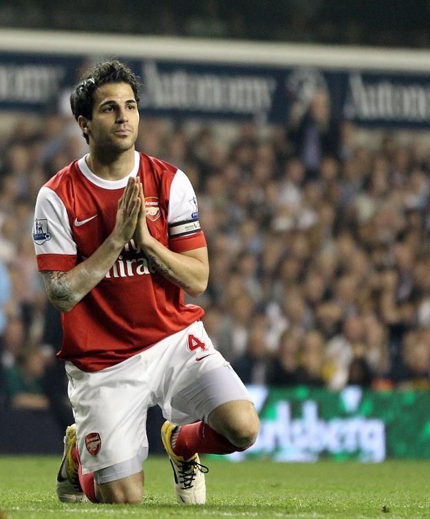 Prośby Cesca Fabregasa zostały spełnione: puścili go do Barcy. /AFP