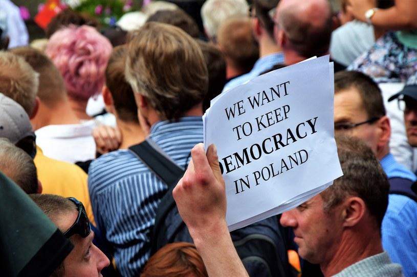 Prostesty w cieniu wizyty pary książęcej w Polsce /Szymon Szewczyk/Polska Press/Dziennik Bałtycki /East News