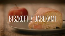 Prosty deser - biszkopt z jabłkami