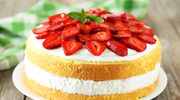Prosty tort owocowy