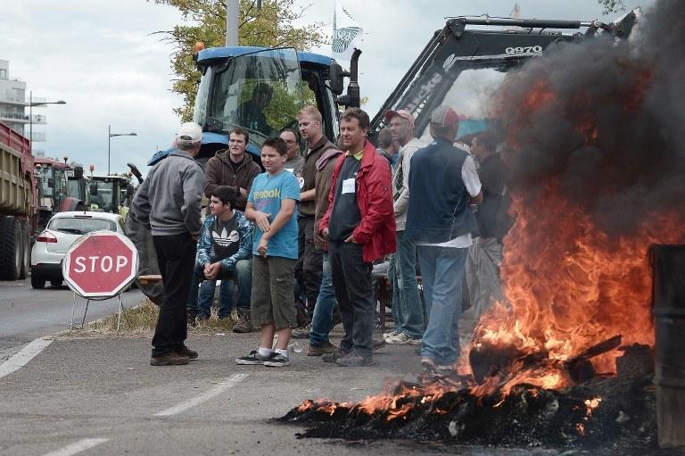 Protest francuskich rolników /FREDERICK FLORIN / AFP /AFP