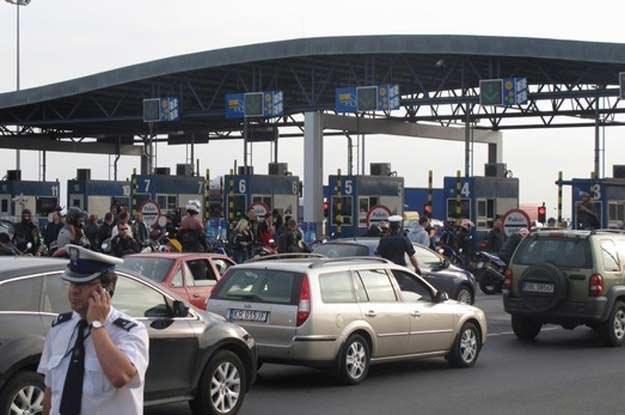 Protest motocyklistów na A4 /RMF