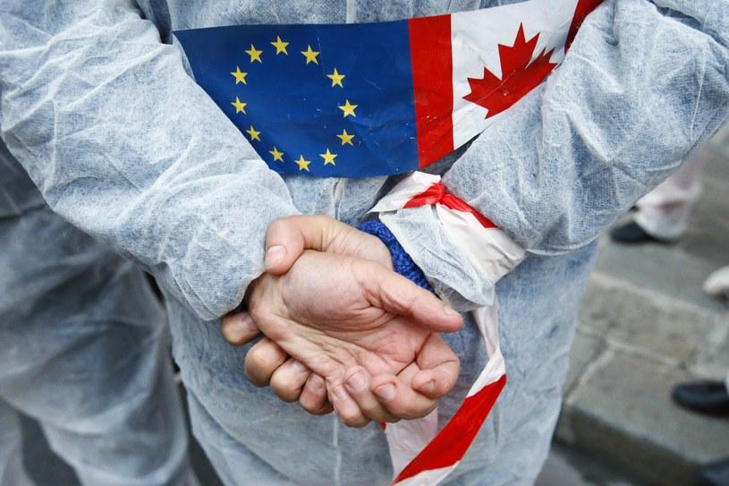 Protest przeciwko umowie CETA, zdj. ilustracyjne /East News