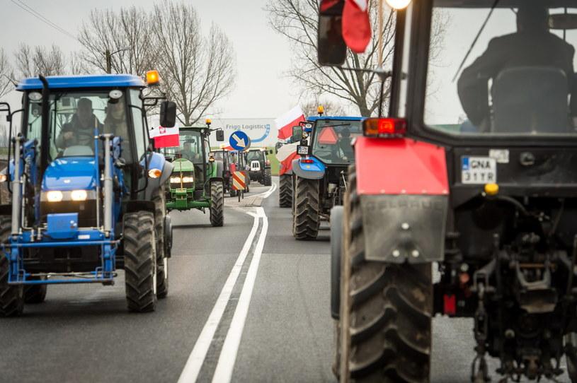 Protest rolników /Tytus Żmijewski /PAP
