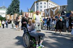 Protestujący opuścili Sejm