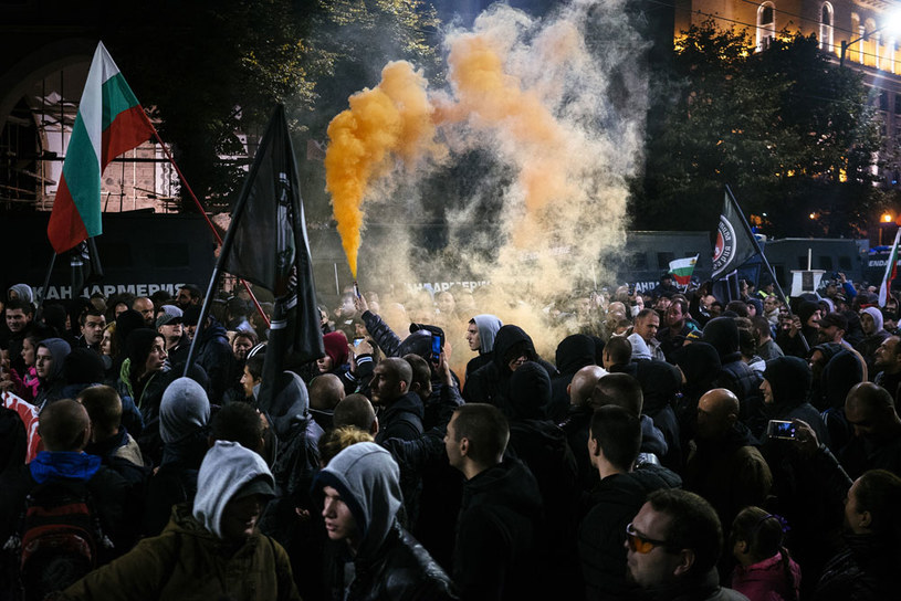 Protesty antymigracyjne w kilku bułgarskich miastach /AFP