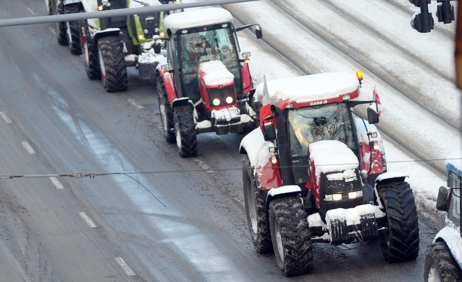 Protesty mogą zablokować część dróg na Pomorzu i Śląsku /Marcin Bielecki /PAP