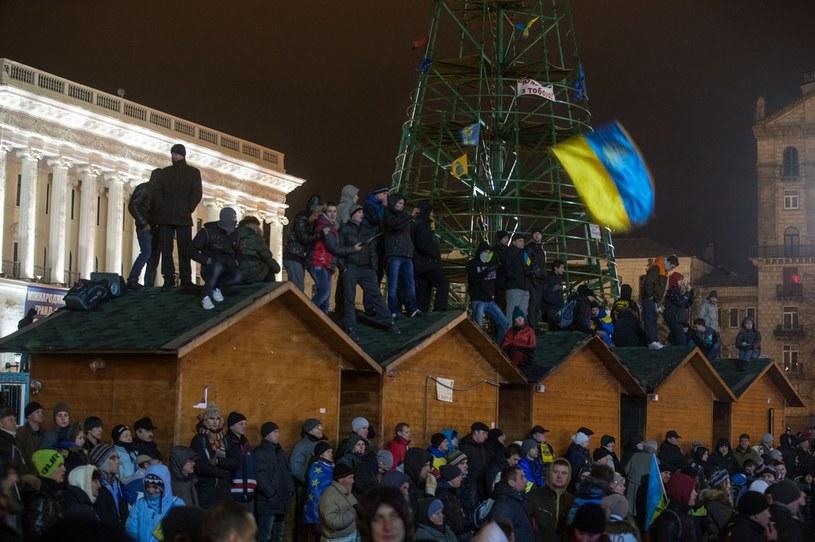 Protesty na Ukrainie /Sokolovska Inna/Ukrafoto /East News