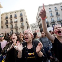 Protesty od Sevilli do Barcelony. Powodem wyrok sądu