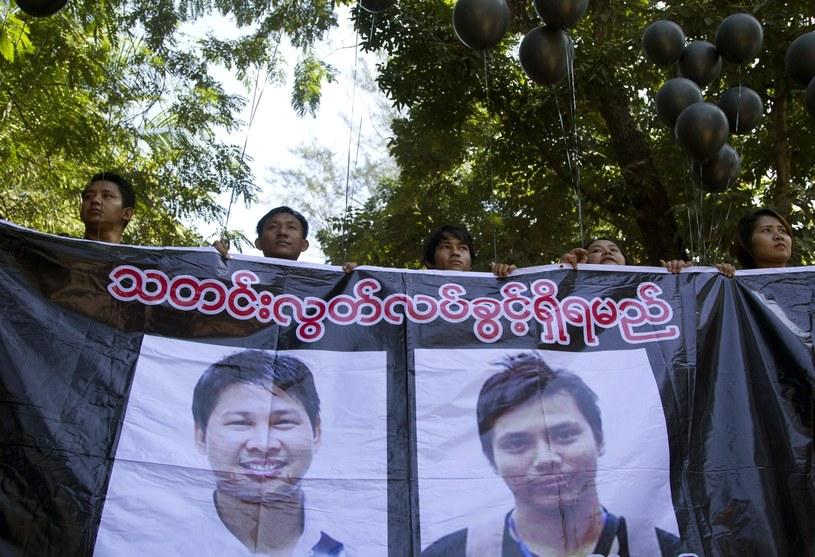 Protesty po zatrzymaniu dziennikarzy /Associated Press /East News