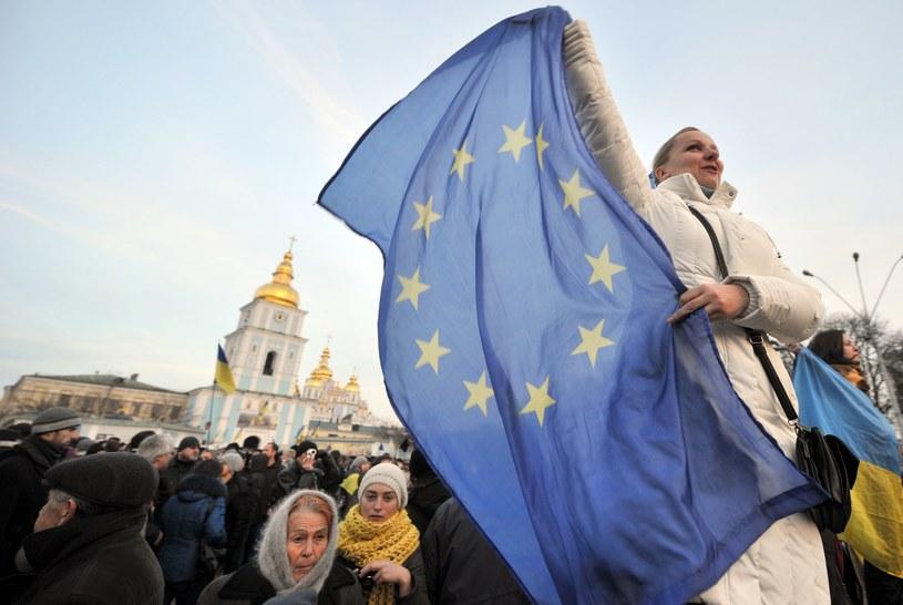 Protesty w Kijowie trwają od 21 listopada /AFP