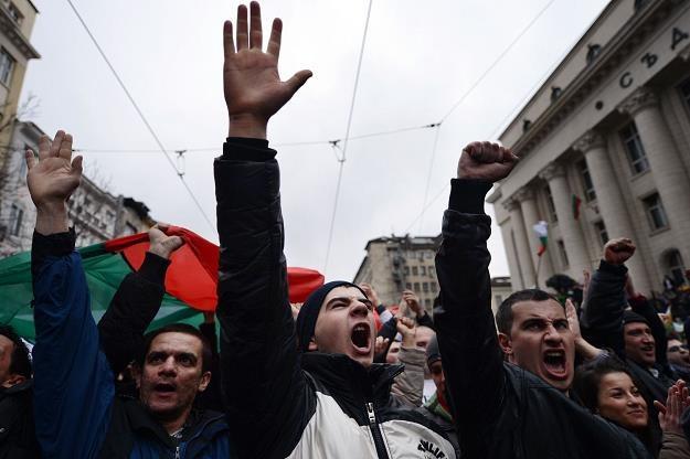 Protesty w Sofii /AFP