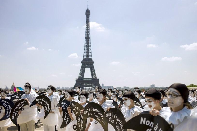 Protesty we Francji /AFP