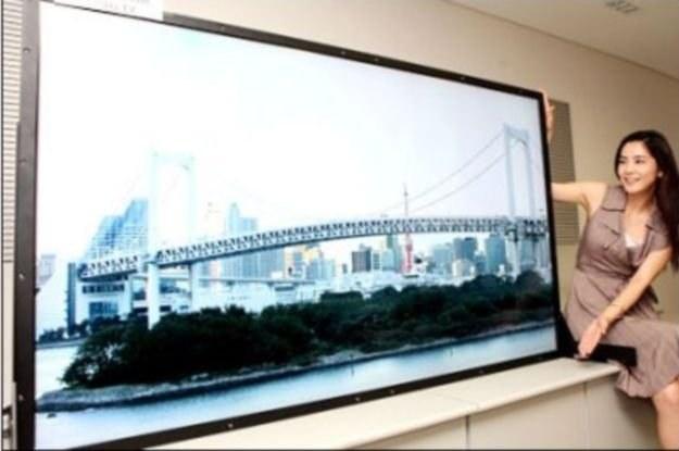 Prototyp panelu Ultra HD od Samsunga /HDTVmania.pl