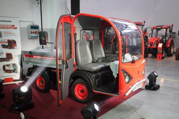 Prototyp pojazdu elektrycznego Ursusa /Wojciech Pacewicz /PAP