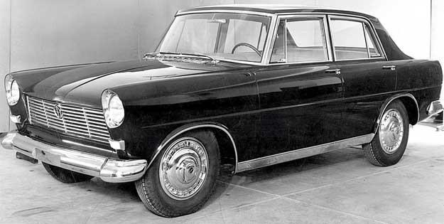 Prototyp wersji sedan, 1959 rok /