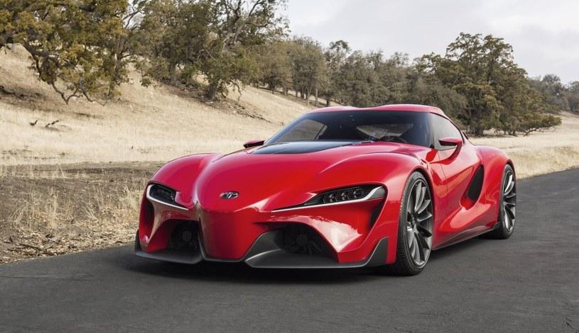 Prototypowa Toyota TF1, zapowiadająca nową Suprę /