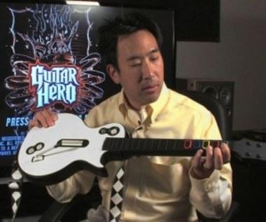 Prototypowy model kontrolera z Guitar Hero III