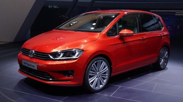 Prototypowy Volkswagen Golf Sportsvan zadebiutował jesienią ub.r. /Newspress