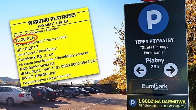 prywatne parkomaty /Motor
