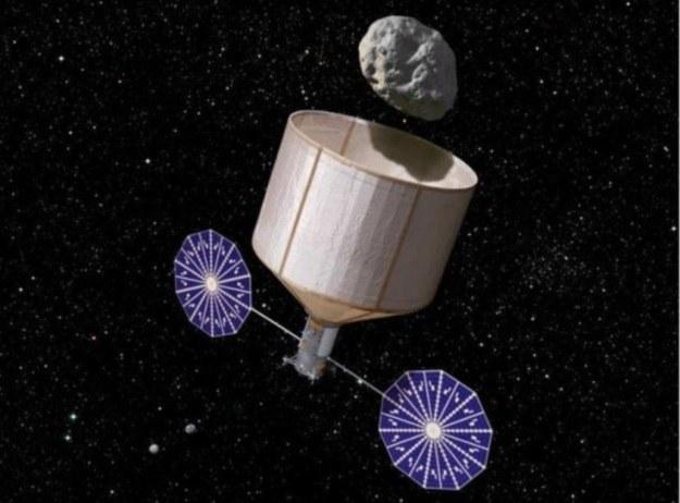 Przechwycenie asteroidy ma mieć miejsce w 2025 r. /materiały prasowe
