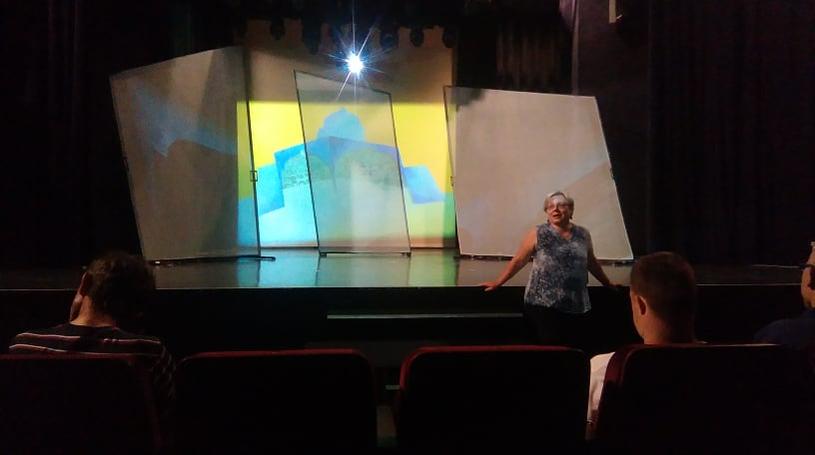 Przed dużą sceną Teatru Groteska /Izabela Rzepecka /INTERIA.PL