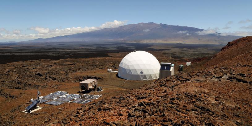 Przedsięwzięcie na Hawajach ma pomóc w przygotowaniach do misji na Marsa /materiały prasowe