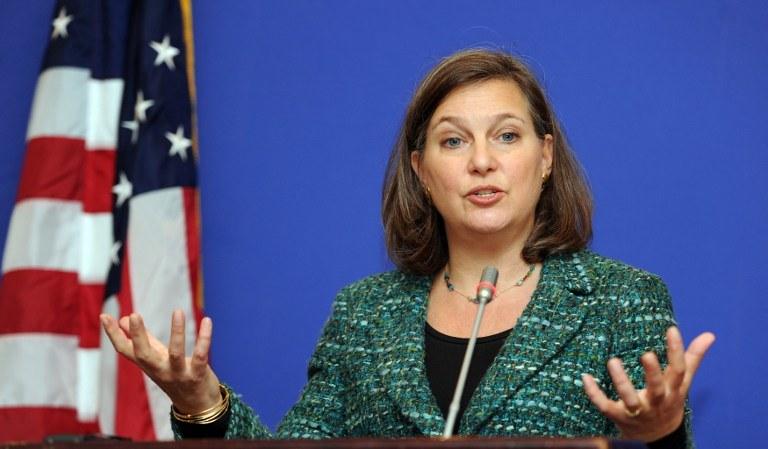 Przedstawicielka Departamentu Stanu USA Victoria Nuland /AFP