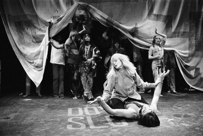 Przedstawienie w Londynie, 1968r., fot. Hulton Archive /Getty Images