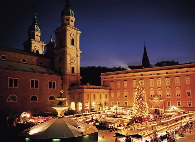 Przedświąteczne jarmarki w Salzburgu fot. Tourismus Salzburg /INTERIA.PL