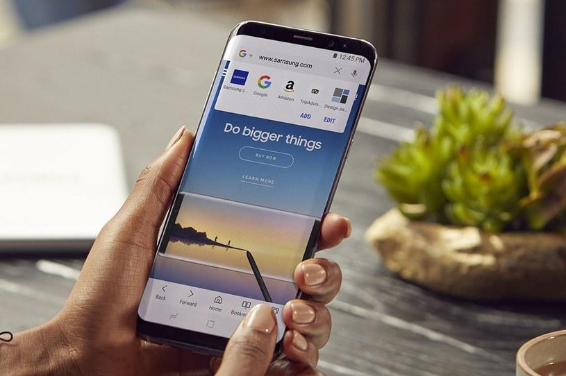 Przeglądarka Samsunga może konkurować z Google Chrome /materiały prasowe