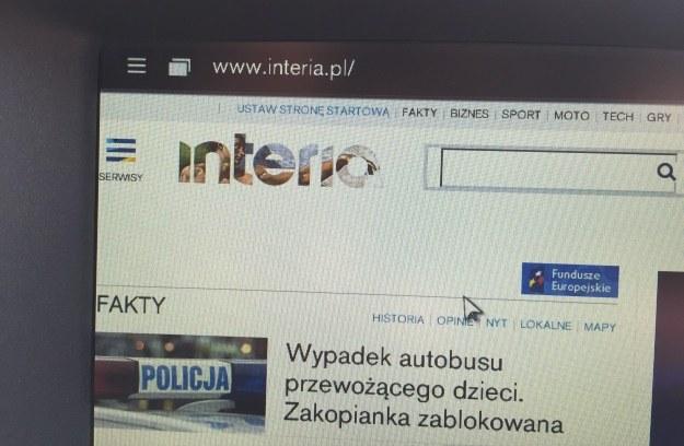 Przeglądarka www /INTERIA.PL