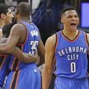Przegrana Spurs z Oklahomą w NBA