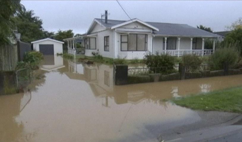 Przejście cyklonu wywołało podtopienia /Associated Press /East News