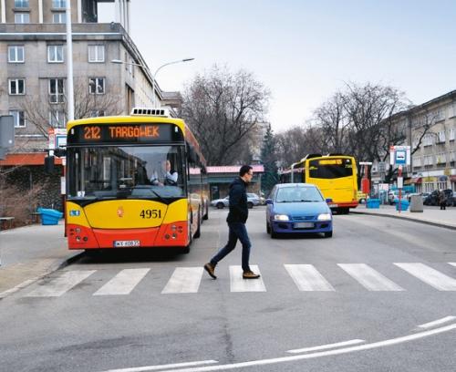 przejście przystanek /Motor
