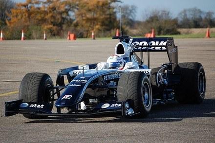 Przejściowe auto Williamsa /