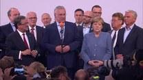 Przemówienie Merkel po ogłoszeniu wyników wyborów w Niemczech
