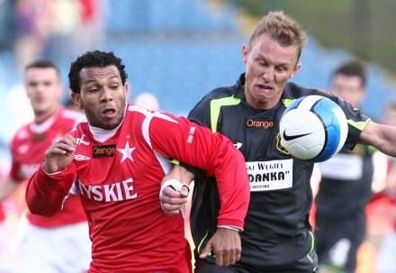 Przemysław Kulig (z prawej)/Fot: Tomasz Markowski /Agencja Przegląd Sportowy