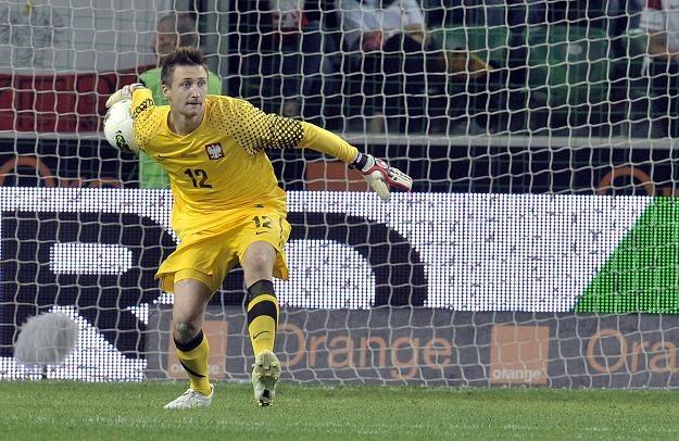 Przemysław Tytoń, bramkarz PSV /AFP